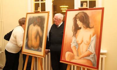 Wernisaż wystawy Brygidy Śniateckiej - 18.02.2011