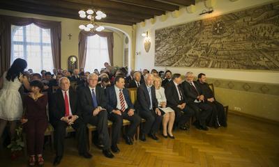 Uroczysta sesja Rady Miasta Wejherowa
