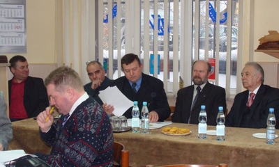 Zebranie sprawozdawcze Koła PZW Wejherowo-Miasto - 19.02.2011