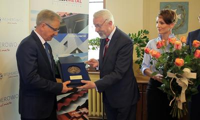 Medal Miasta Wejherowa dla Lecha Baranowskiego
