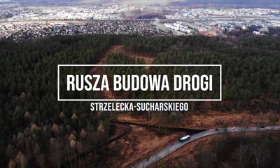 Rusza budowa drogi łączącej ulice Strzelecką z Sucharskiego