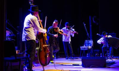 Nigel Kennedy i Kroke zagrali wspólny koncert w Wejherowie - 24.07.2014