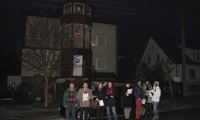 Komisja oglądała balkony i ogrody - 11.01.2016