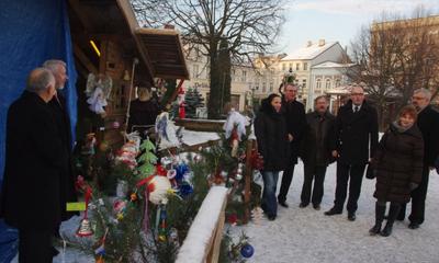 Szopka Bożonarodzeniowa na wejherowskim reynku - 21.12.2012