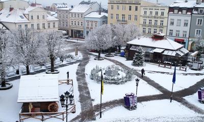 Śnieg w Wejherowie - 15.01.2016