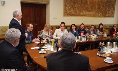 Wizyta młodzieży z Ukrainy, Białorusi i Mołdawii - 28.04.2015