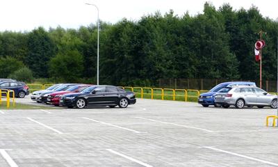 Otwarcie nowego parkingu przy szpitalu