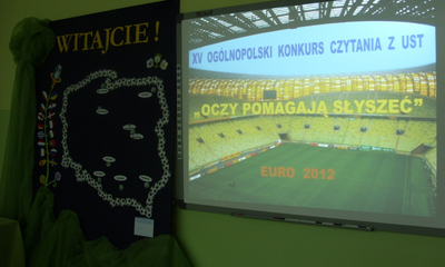 XV Ogólnopolski Konkurs Czytania z Ust -14.04.2012