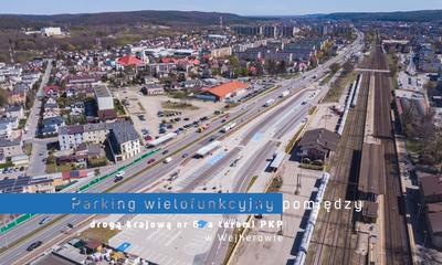 Parking wielofunkcyjny Węzła Integracyjnego Wejherowo (Kwiatowa)