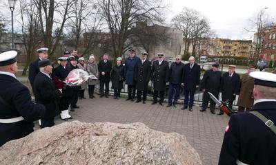 74. rocznicy zakończenia działań wojennych na terenie Wejherowa