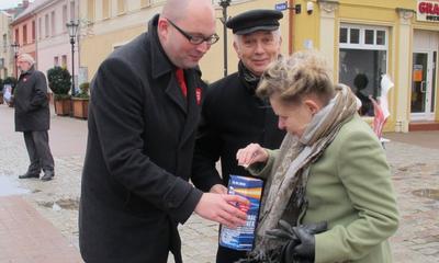 WOŚP zagrała w Wejherowie - 12.01.2014