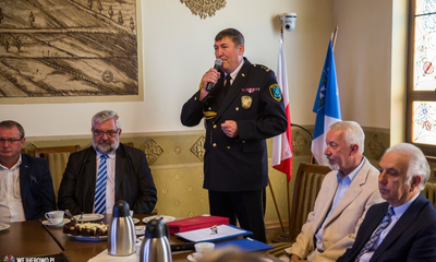 Gratulacje dla wejherowskich strażników - 27.08.2015