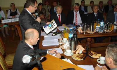 Szabla Kilińskiego , kwiaty i gratulcje dla Prezydenta Wejherowa - 26.06.2012