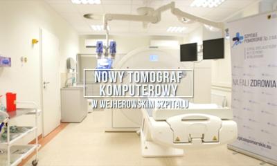 Szpital w Wejherowie zakupił nowy tomograf komputerowy
