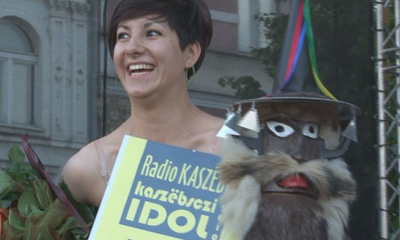 Marlena Brzeska- Kaszubskim Idolem 2010.