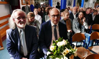 Prof. Gerard Labuda patronem SP 2 w Luzinie