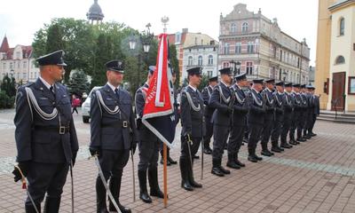 Poświęcenie sztandaru dla Aresztu Śledczego w Wejherowie - 09.09.2015