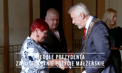 Medale Prezydenta za długoletnie pożycie małżeńskie (2020)