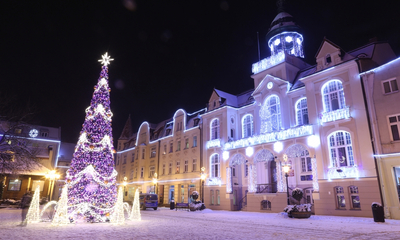 Zima w Wejherowie - 31.12.2014