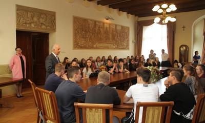 Gimnazjaliści z Chełmna gościli w Wejherowie