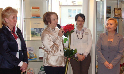 Otwarcie wystawy obrazów Longiny Wosockiej - 15.03.2011