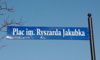 Nadanie Placowi Zabaw na os. Sucharskiego im. Ryszarda Jakubka - 30.01.2012