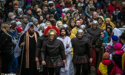 Misterium Męki Pańskiej na Kalwarii Wejherowskiej -25.03.2016