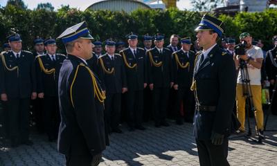 Komendant wejherowskiej straży pożarnej przeszedł na emeryturę