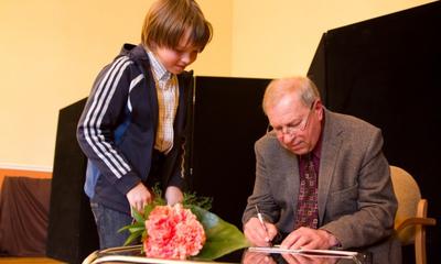 Biesiada literacka z Jerzym Stuhrem - 06.04.2013