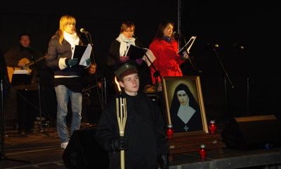 Spotkanie modlitewno-artystyczne w ramach Litanii Miast 1-11-2009