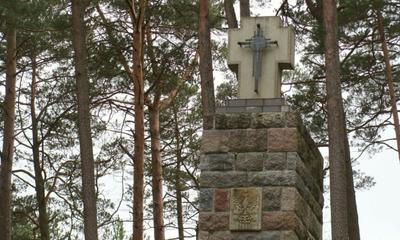Uroczystość w Piaśnicy z okazji Miesiąca pamięći Narodowej - 10.04.2010