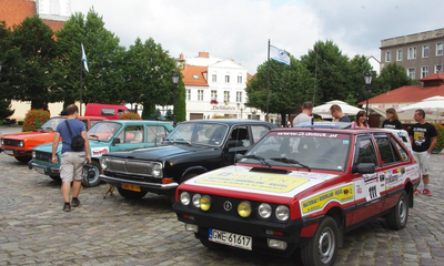 Złombol 2013 wystartował - 09.08.2013