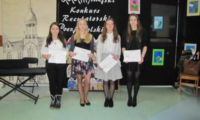 Miejski Konkurs Recytatorski Poezji Polskiej - 14.03.2016