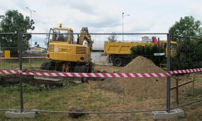 Rozpoczęcie budowy Bramy Piaśnickiej - 15.06.2011