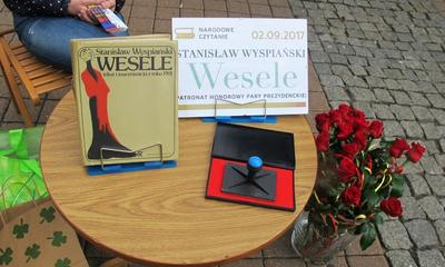 Narodowe czytanie Wesela w Wejherowie