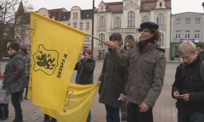 Rajd Kaszubskiej Flagi dotarł do Wejherowa.