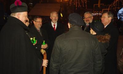 Betlejemskie Światło Pokoju w Wejherowie - 20.12.2012