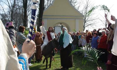Inscenizacja Wjazdu Chrystusa do Jerozolimy - 17.04.2011