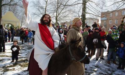 Niedziela Palmowa - Wjazd Chrystusa do Jerozlimy Kaszzubskiej - 23.03.2013