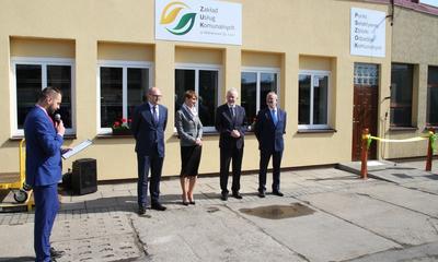 Otwarcie nowego biura PSZOK w ZUK - 26.04.2016