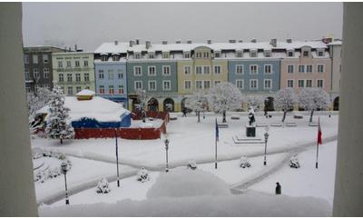 Zima w Wejherowie - 28 stycznia 2010