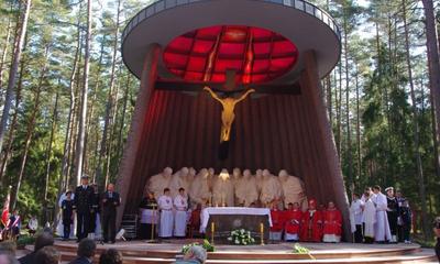 Uroczystość w Piaśnicy - 02.10.2011