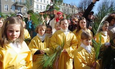 Inscenizacja wjazdu Chrystusa do Jerozolimy - 01.04.2012