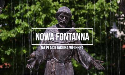 Nowa fontanna na placu Jakuba Wejhera