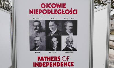 """Wystawa IPN """"Ojcowie Niepodległości"""""""