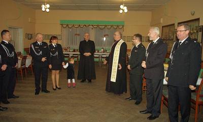 Opłatek Rycerzy św. Floriana - 21.12.2013