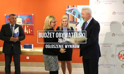 Ogłoszenie wyników Budżetu Obywatelskiego 2017 w Wejherowie