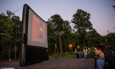 Pierwsza projekcja kina pod gwiazdami za nami -  06.07.2015