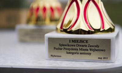 Zawody spławikowe o Puchar Prezydenta na kanale rzeki Redy w miejscowości Orle 15 05 2011