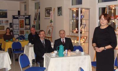 Promocja w bibliotece tomiku Powiew Weny 2010 - 09.02.2011